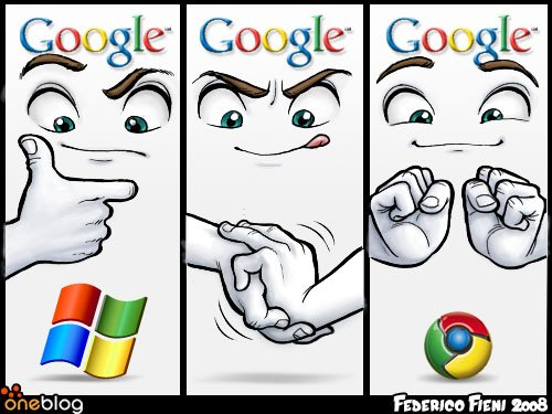 The story of the Google Chrome Logo